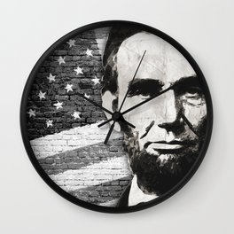 President Abraham Lincoln Wall Clock