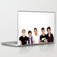lou reed Laptop & iPad Skins featuring Tiny Lou! by Plebnut