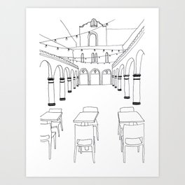 HanaHaus in Palo Alto Art Print