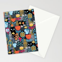 Funny cemetery. Stationery Cards