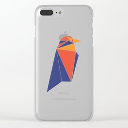 Raven Coin RVN Clear iPhone Case