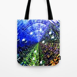 Water Whirl Tote Bag