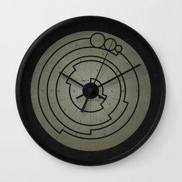 Barbury Castle Crop Circle Wall Clock