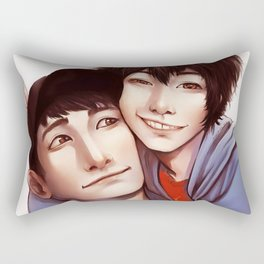Tadashi is Here Rectangular Pillow
