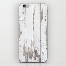 White Wood iPhone & iPod Skin