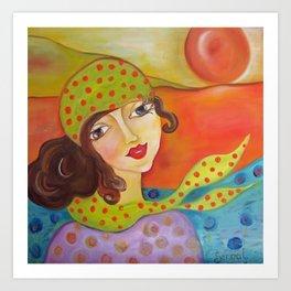 Abie  Art Print