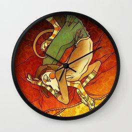 Da Milano a Praga Wall Clock