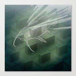 Ghost catfish Canvas Print