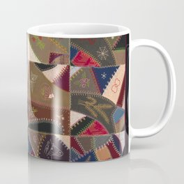 Early 1900s African American Quilt Coffee Mug