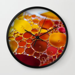 Hubbly Bubbly Wall Clock