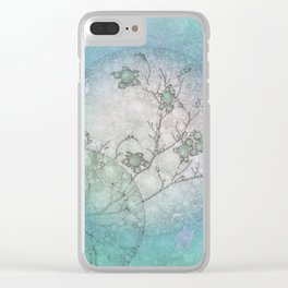 Serenity Blue Clear iPhone Case
