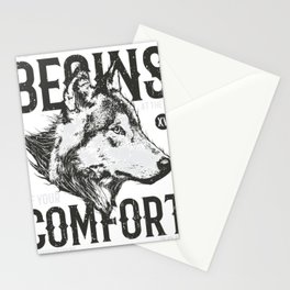 Wolf Life Stationery Cards