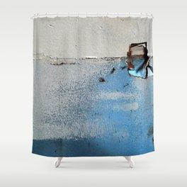 wallholes Shower Curtain
