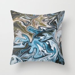Liquid Life Throw Pillow