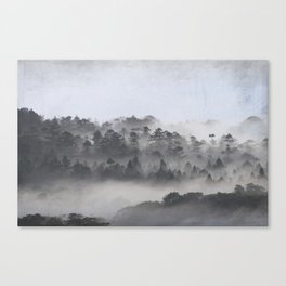 The Foggy Dales Canvas Print