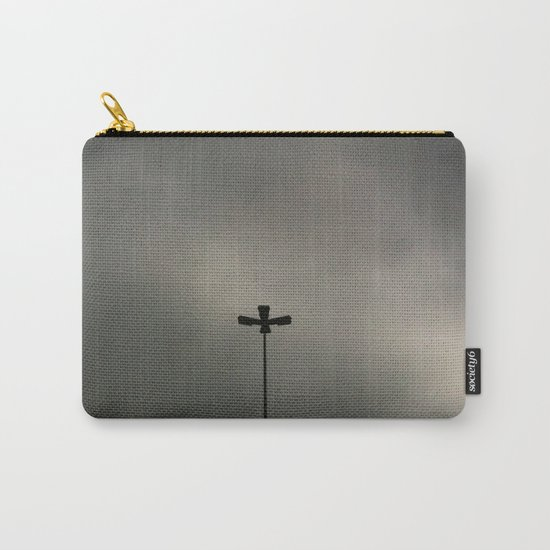 Gray Sky Carry-All Pouch