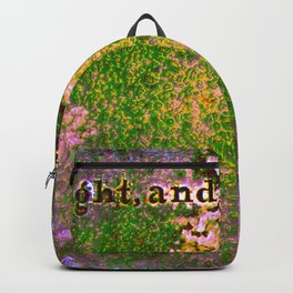 Do Right and Fear No Man Backpack