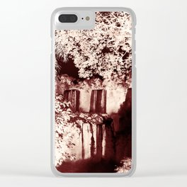 Magic and nature... Clear iPhone Case