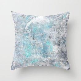 Mold Skeleton 2 Throw Pillow