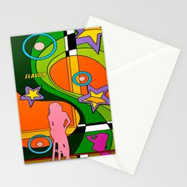 """""""FLAVOR"""" Stationery Cards"""