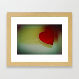 Something is Lurking Framed Art Print