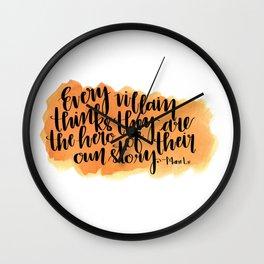 Every Villian Wall Clock