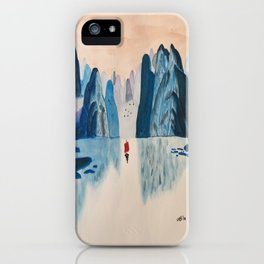 Guilin Mountains iPhone Case