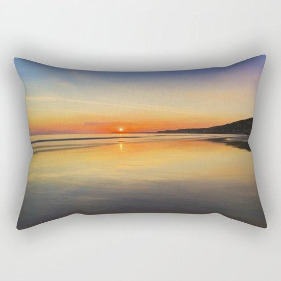 Dawn colours Rectangular Pillow