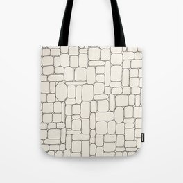 Stone Wall Drawing #3 Tote Bag
