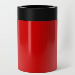 Bright red Can Cooler
