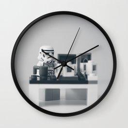 Nine to Five Wall Clock