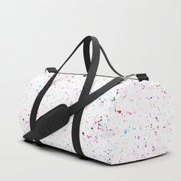Paint splatters Duffle Bag
