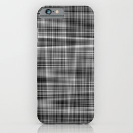 Ambient 7 in Grayscale iPhone Case
