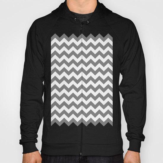 Chevron (Gray/White) Hoody