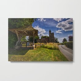 St Michael And All Angels Little Horsted Metal Print