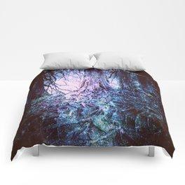 The Wishing Tree : Aqua Lavender Comforters