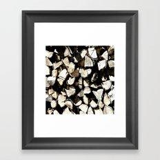 Casual Wood Framed Art Print