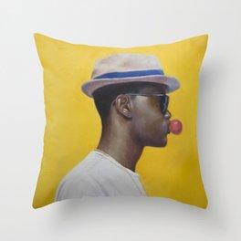 Rocksteady Throw Pillow