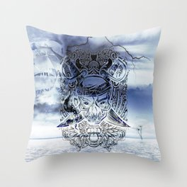 Ghost Pirate Throw Pillow
