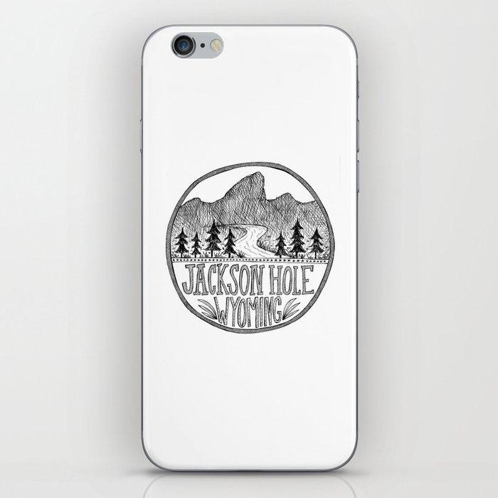 Jackson Hole Wyoming iPhone Skin