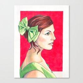 Susanna Canvas Print
