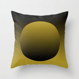 Brown grocery bag Throw Pillow
