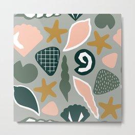 Modern Art Seaside MAS7 Metal Print