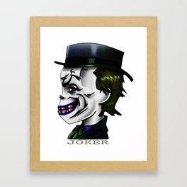 Joker - 1 Framed Art Print