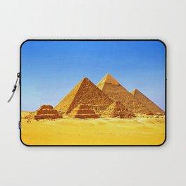 The Pyramids At Giza Laptop Sleeve