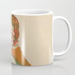 "Egon Schiele ""Lovemaking"" Coffee Mug"