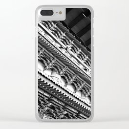 Po Lin Monastery Clear iPhone Case