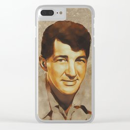 Dean Martin, Hollywood Legend Clear iPhone Case