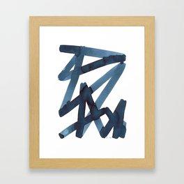 Assertion Framed Art Print