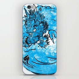 Dragon Waves iPhone Skin